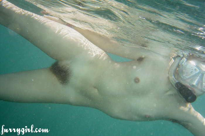 Underwater hairy pussy naked gallery